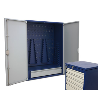 Cabinets for instruments
