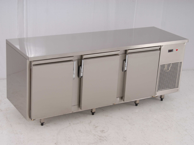 Refrigerator Stainless Steel Cupboard -Table